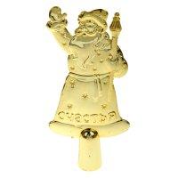 Верхушка на ёлку счастья (золотой дед мороз)