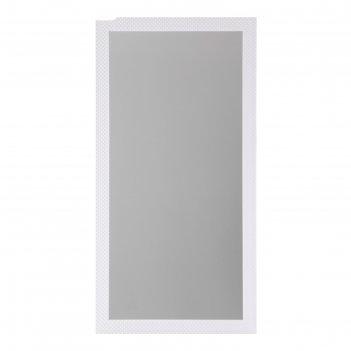 Зеркало «милана», настенное, белый багет, 60x120 см