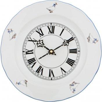 Часы настенные гуси диаметр=24 см.