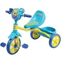 Велосипед трехколесный 1toy - губка боб