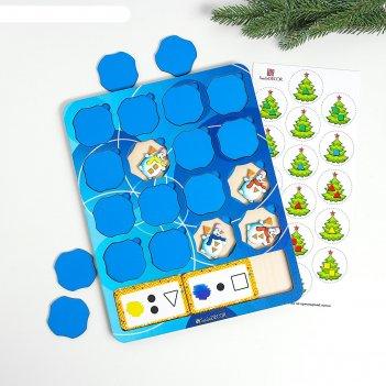 Логическая игра «снеговики»