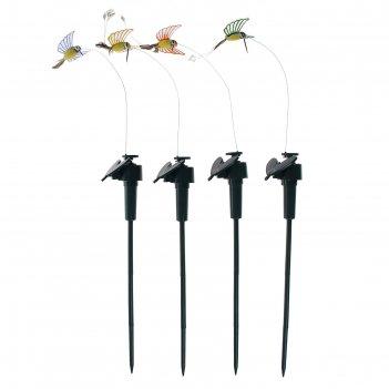 Летающая птичка колибри прозрачные крылья, цвета микс