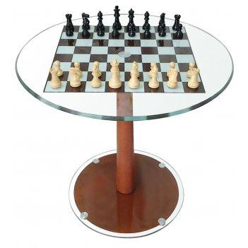стол шахматный с фигурами d 61 см