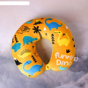 Подголовник антистресс «динозаврики»