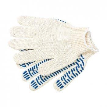 Перчатки х/б, пвх покрытие, волна, 10 класс россия