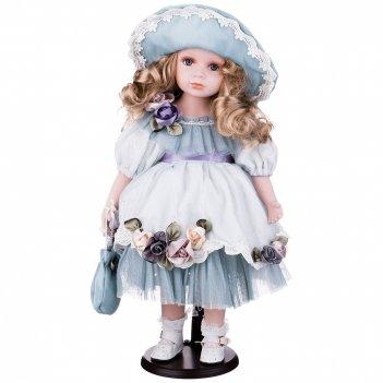 Кукла фарфоровая высота=48 см.
