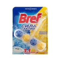 Средство для унитаза бреф сила актив лимонная свежесть 50гр
