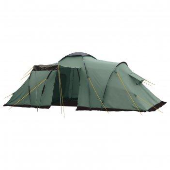 Палатка, серия casmping ruswell 4, зеленая, 4-ех местная