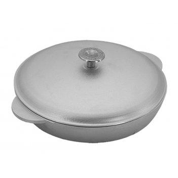 Сковорода-сотейник ск230ч 23см.2лит.руч.с кр.