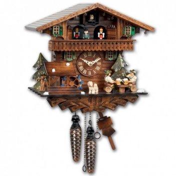 Часы с кукушкой sars кварцевые (германия)