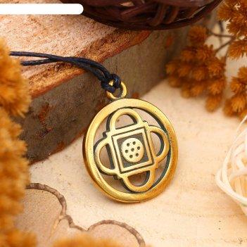 Амулет из ювелирной бронзы янтра шамбала открывает возможности к новым зна