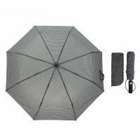 Зонт автоматический «гусиные лапки», 3 сложения, 8 спиц, r = 50 см, цвет ч