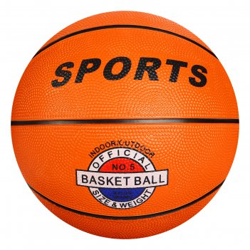 Мяч баскетбольный sport №5 pvc 400 гр
