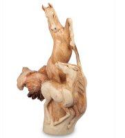 45-007 статуэтка лошадь с жеребенком 35см