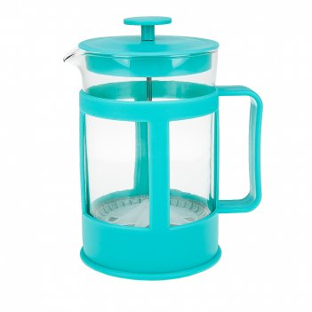 Кофейник (френч-пресс), v=850мл. (4вида) (подарочная упаковка)