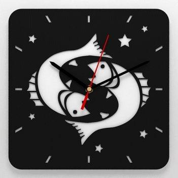 Часы со знаком зодиака рыбы