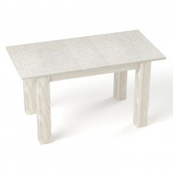 Бостон  стол  antivandal (пластик) раскладной  1200(1500)х800 мм, цвет бел