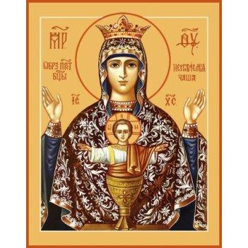 Неупиваемая чаша икона божией матери (арт.00255)