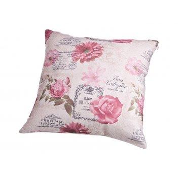 Декоративная подушка 43*43 см, полиэстер 100%,печать