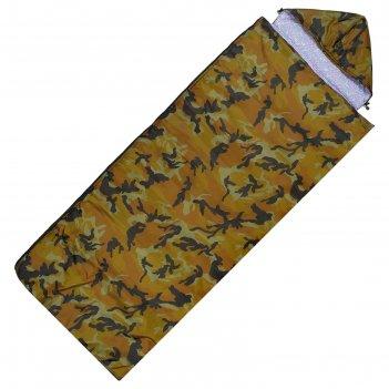 Спальный мешок tc 200 ув, 220 х 100 см, цвета микс