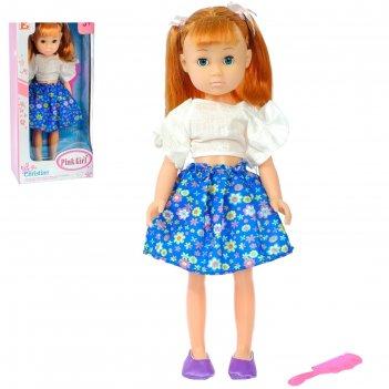 Кукла ульяна в платье с аксессуарами, микс