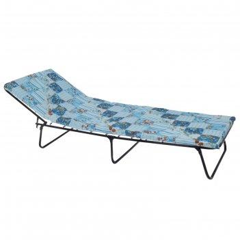 Кровать раскладная 195х65х26 см, матрас 5 см