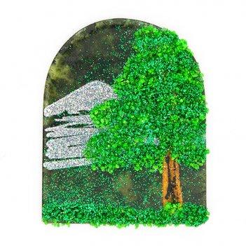 Магнит с рисунком арка малый