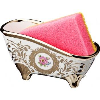 Подставка для губки ванночка 14*6*7 см.в комплек...код т