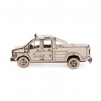 Деревянный конструктор «грузовик пикап эльтано»