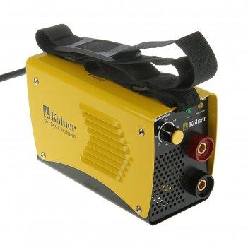 Сварочный аппарат kolner kiwm 180i, инверторный, 6100 вт, 20-180 а