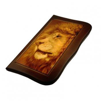 Нарды деревянные резные лев