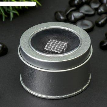 Неокуб серебряный, 216 шариков d=0,3 см