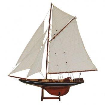 Большая модель яхты columbia lux l 130 см h 144 см