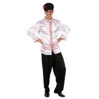 Карнавальный костюм для взрослых русский хлопчик , 3 предмета: рубашка, бр