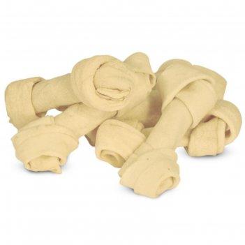 Кость triol для собак, узловая белая,  4.0-4.5, 30-35 г.