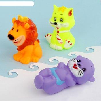 Набор игрушек для ванны «друзья», 3 шт.