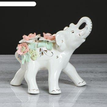 Фигурка-статуэтка слон гламур