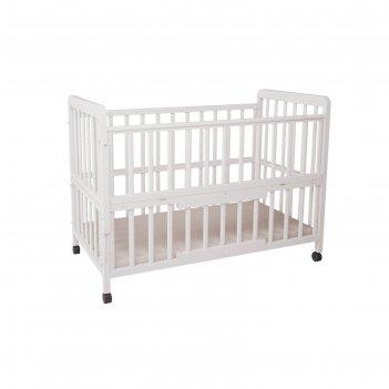 Кроватка детская «фея 403» белая