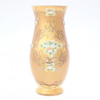 Ваза bohemia лепка золотая e-s 30 см