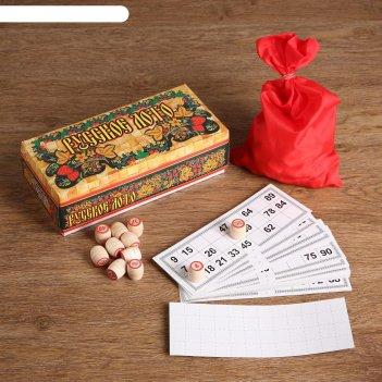 Русское лото в картонной упаковке