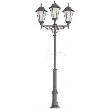 Фонарь уличный «пушкин - 3» со светильниками 4,117 м.