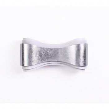Бра farfi, 8вт led, 3000, 257лм, цвет серебро
