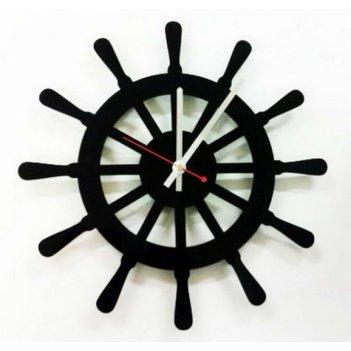 Акриловые часы штурвал cl204 35х35см
