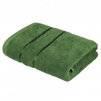 Полотенце «египетский хлопок», размер 70 x 130 см, зелёный