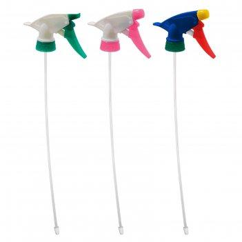 Опрыскиватель-триггер на пластиковую бутылку, цвета микс