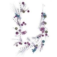 Новогоднее украшение гирлянда, l 180 см