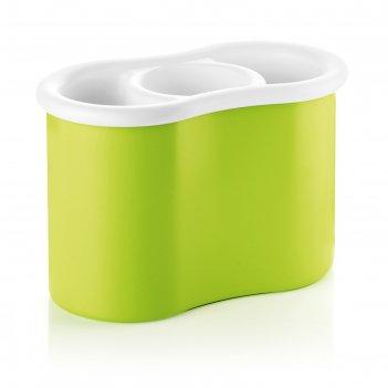 Сушилка для столовых приборов forme casa, зеленая