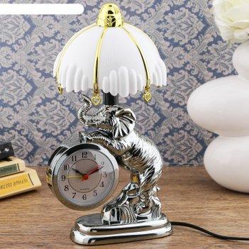 Часы-светильник дамбо, с будильником, 27х12 см