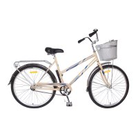 Велосипед 26 stels navigator-210 lady, z010, цвет бежевый/синий, размер 19