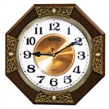 Часы настенные sinix 1070n cma